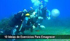 10 Ideias de Exercícios Para Emagrecer → http://www.segredodefinicaomuscular.com/10-ideias-de-exercicios-para-emagrecer/  #Secar