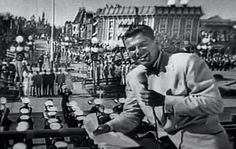Ronald Reagan Reports on the Opening Day of Disneyland, 1955.  from Weird Hollywood