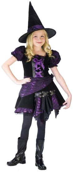 076dfc0485b18 12 Best KIDS WITCH COSTUMES images | Costumes, Halloween crafts ...