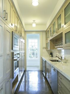 1000 ideas about long narrow kitchen on pinterest for Kitchen designs for long narrow kitchens