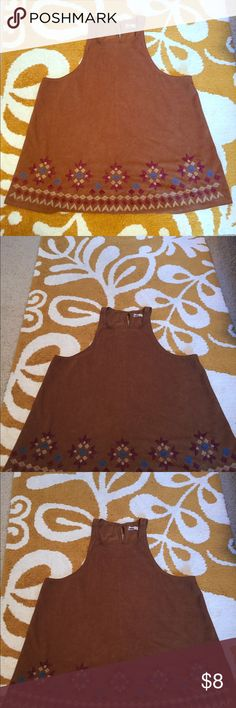Women's Hollister Brown Suede Blouse Size S Could Fit M EUC  No stains - just shadows Hollister Tops Blouses