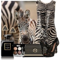 """Zebra All-Over"" by jacque-reid on Polyvore"