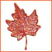 Free motion lacey leaf