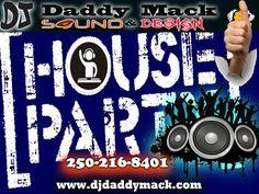 DJ Daddy Mack Sound provides award winning Best DJ Event Services in Victoria for staff parties, weddings, bar-bat mitzvah & quincea単era celebrations Mixing Dj, Best Dj, Party Mix, 50th Party, Event Services, Music Library, Sound Design, Types Of Music, Wedding Dj
