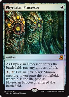 Phyrexian Processor mtg Magic the Gathering FTV: Lore