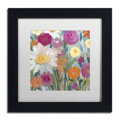 Earth at Daybreak by Carrie Schmitt Matted Framed Painting Print