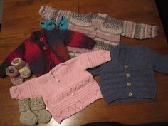 Baby Jackets for baby Florence 2013