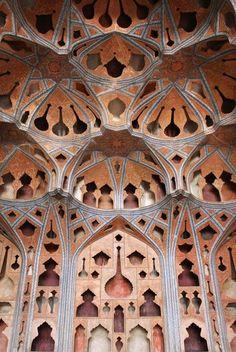 Ālī Qāpū's music hall in Isfahan
