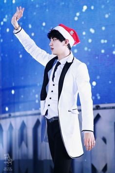 Park Chanyeol | 141221 SBS Gayo Daejeon