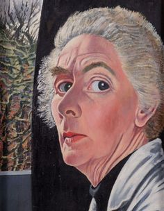 Charley Toorop, Zelfportret (1955), Alkmaars museum,23 november