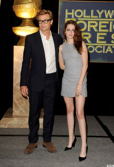 Christian Grey and Anastasia Steele in the flesh.