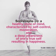 There are three main facts to #sophrosyne:  -Self-knowledge  -#Self-restraint  -Harmony  Syphrosyne, then, isn't about self-denial. Rather, it's avoiding overindulgence because it truly makes you happier to do so!!!  So...are you syphrosyne??? If you are struggling with it -- join my next challenge!!!!! Message me today!  @jendelvaux #jendelvaux
