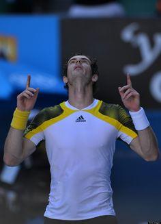 Who will be playing Novak #Djokovic in the Australian Open 2013 final? Andy #Murray? #ausopen #tennis