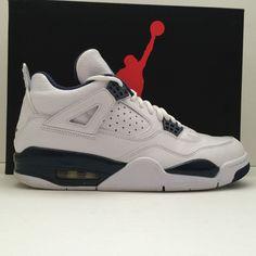 4a09da5762421a Nike Air Jordan 4 IV Retro LS Legend Blue Size 9