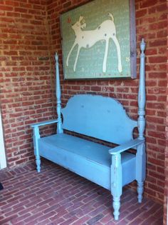 Bed into bench
