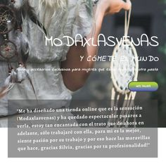 Cuando tus clientas dicen cosas así de bonitas sobre ti, no puedes evitar recordarlas 🥰  Pasaos por su perfil @modaxlasvenas y mirad que artículos tan especiales tiene.  #clientesfelices #clientassatisfechas #diseñoweb #paginasweb #testimonios #venderonline #tiendaonline #ecommerce #pequeñocomercio #autonomosespaña #pymesespaña #seo #estrategias #marketing #autonomos  #marketingdigital #españa #alicante Vender Online, Alicante, Marketing Digital, Decir No, Hipster Stuff, Design Web, Profile