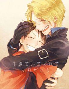 Luffy & Sabo