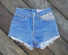 High Waisted Denim Shorts Vintage LEVI'S  by TomieHarleneVintage, $22.00