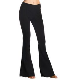 Look what I found on #zulily! Black Flare Pants #zulilyfinds