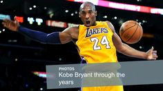 Kobe Bryant through the years Nba Tv 3eeb15e0fe5