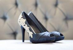 Wedding Shoes Navy Heels Blue Wedding Heels Navy by walkinonair