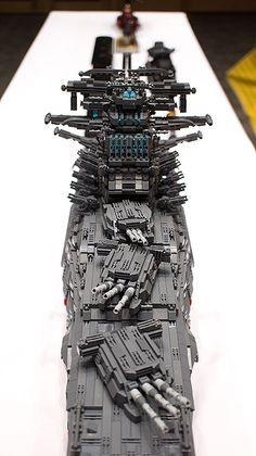 Spaceship YAMATO with LEGO by HaeunDaddy   by seter82