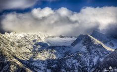 "5 Tips for Photographing Winter Landscapes. Author: Corky Carson. Photo: ""Clouds Over Snow HDR"" captured by Mitch Johanson. http://www.picturecorrect.com/tips/5-tips-for-photographing-winter-landscapes/"