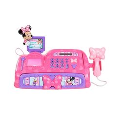 Minnie Mouse Bow-tique Sweets and Treats Cafe Cash Register in Great Big ToysRUs Play Book from ToysRUs on shop.CatalogSpree.com, my personal digital mall.