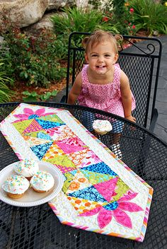 Party Time Runner by Heather Mulder Peterson, via Flickr