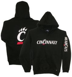 $49.95 Size (M) Cincinnati Bearcats Champion Embroidered Hood w/ Back C-paw