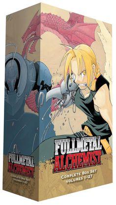 Fullmetal Alchemist Graphic Novel Box Set (1-27 + Novel)