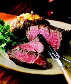 Filet Mignon - Rare. #Steak