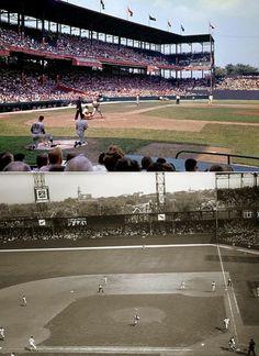 Sportsman's Park, St Louis.