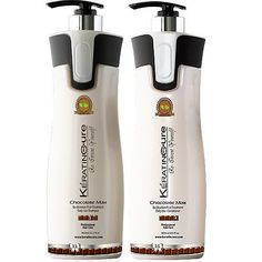 Keratin Cure Color and KeratinSafe -SULFATE FREE- Shampoo and Conditioner Sulfate Free Keratin Cure Set Chocolate Max 960 ml /32.5 Fl Oz Bio-brazilian Champu Y Acondicionador De Keratina Y Cocoa *** Be sure to check out this awesome product.