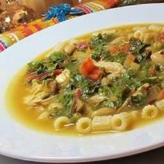 Beans, Greens and Garlic Soup Allrecipes.com