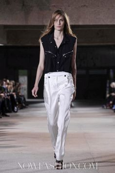 Anthony Vaccarello Ready To Wear Spring Summer 2013 Paris