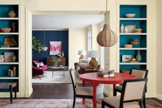 5 Interior Design Tips With Spring Color Trends of this year to get your home ready for spring and for coming summer Room Paint Colors, Paint Colors For Living Room, Interior Paint Colors, Bedroom Colors, Color Trends 2018, 2018 Color, Trending Paint Colors, Decor Inspiration, Home Decor Trends