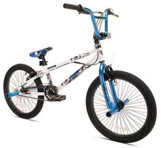 609599101dfa Kent Pro 20-Inch Boy s Bicycle in White Bmx Bikes