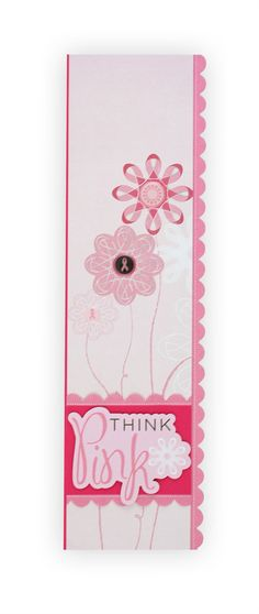 Think Pink Scrapbooking Border Idea reference only - site was taken down 9/30/13