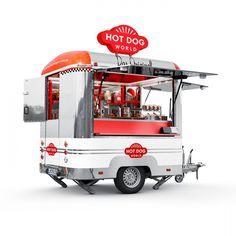 hot dog trailer - Google Search