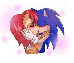 [Sonic Archie Comics] Sonally - Eternal Kiss by mizusawa-yuki
