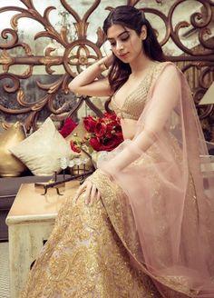 Khushi kapoor wore a pink and golden lehenga by Manish malhotra at the Ambani wedding!   #outfit #outfitinspo#weddingoutfit#outfitgoals#indianwedding#celebritywedding#khushikapoor #weddings #colorful#ambaniwedding #lehenga#indianwedding#indianweddingfashion #indianweddingstyle#weddingdressideas #weddinglook#desicouture#indiancouture#indiandesigner #ethnicwear #shaadisagading!