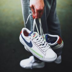 more photos d8f27 1f523 NIKE W BLAZER LO SAIL RACER BLUE ARCTIC PINK AQ4140 101