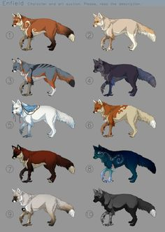 Rules: Payment can be made by Paypal or deviantART points (1$ = 80) The starting bid for all designs is 1$. Do not bid if you can't pay right away. Highest bidder gets both the design and the art f...