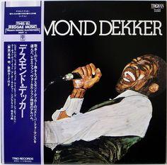 DESMOND DEKKER / TROJAN / REGGAE / JAMAICA / TRIO JAPAN OBI