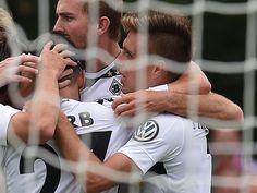 20.08.2016 / DFB-Pokal 1. Runde / Drochtersen - Borussia 0:1 / 0:1Korb (55., Rechtsschuss, Kramer)