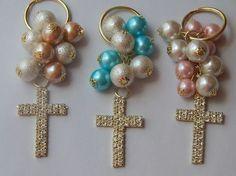 recuerdo de bautizo,1ra.comunion,xv años,boda llaveros perla