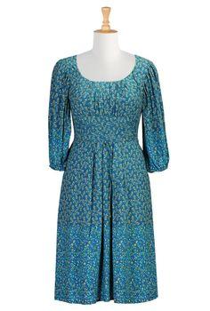 ElegantPlus.com Fashion Flash, Sept 19, 2014: BoHo Floral Print Peasant Dress, Size 0 - 36W  Subscribe: http://eepurl.com/EvJgT