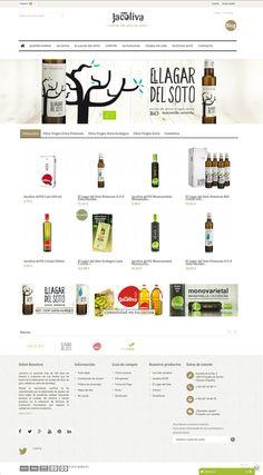 JACOLIVA. Responsive web design.