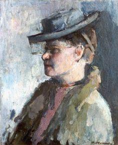 Kees Verwey (Amsterdam 1900-1995 Haarlem) Portret van een dame - Kunsthandel Simonis en Buunk, Ede (Nederland).